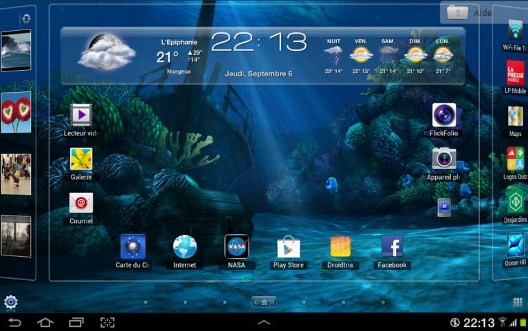 Ocean HD - Samsung Galaxy Tab 10.1 - Général - Forum de FrAndroid
